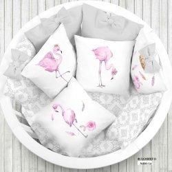 "Панели для подушек ""Фламинго"" (Набор 4 шт)"