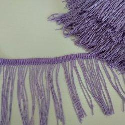 """Бахрома """"Очень светлый фиолетовый"""" 10 см"""