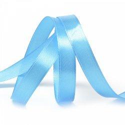 """Атласная лента """"Синий иней"""" 1,2 см"""