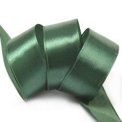 "Атласная лента ""Изумрудно- зеленый"" 2,5 см"