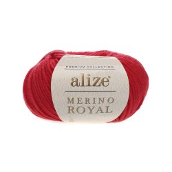 "Alize Merino Royal ""Красный"""