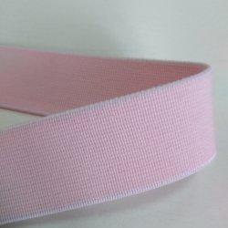 """Резинка """"Тускло-розовый"""" 2.5 см"""