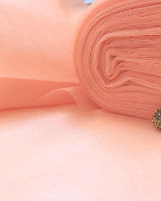 """Фатин средней жесткости """"Розовый персик"""""""