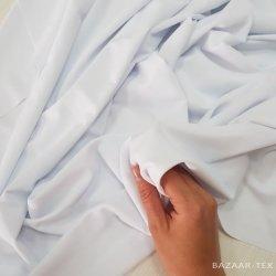 """Бифлекс матовый """"Белоснежный"""" - отрез 1,5 м (шов,грязь)"""
