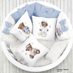 """Панели для подушек """"Спящий мишка"""" (Набор 4 шт)"""