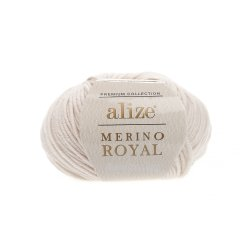 "Alize Merino Royal ""Слоновая кость"""